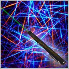 Зеленая лазерная указка 400 мВт с насадкой